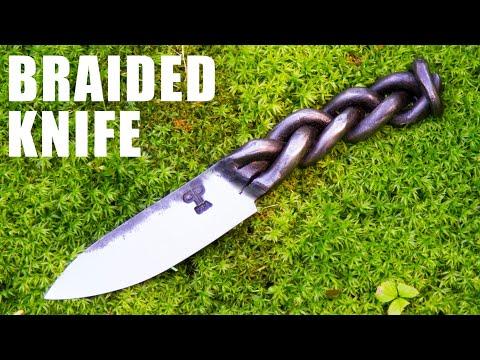 Forging A Braided Knife - Blacksmithing