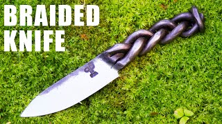 Forging a Braided Knife - Blacksmithing