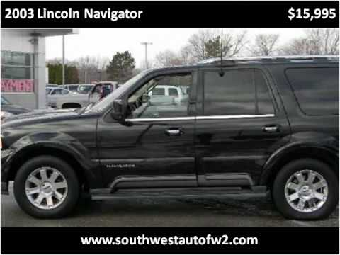 Lincoln Navigator в снегу
