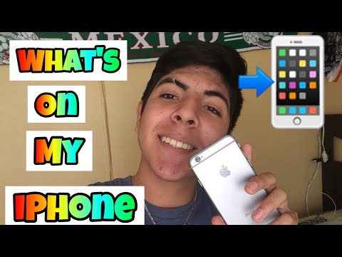 What's on my iPhone 📲 || 2018