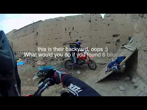 Getting lost in a little village in Morocco - Enduro Style