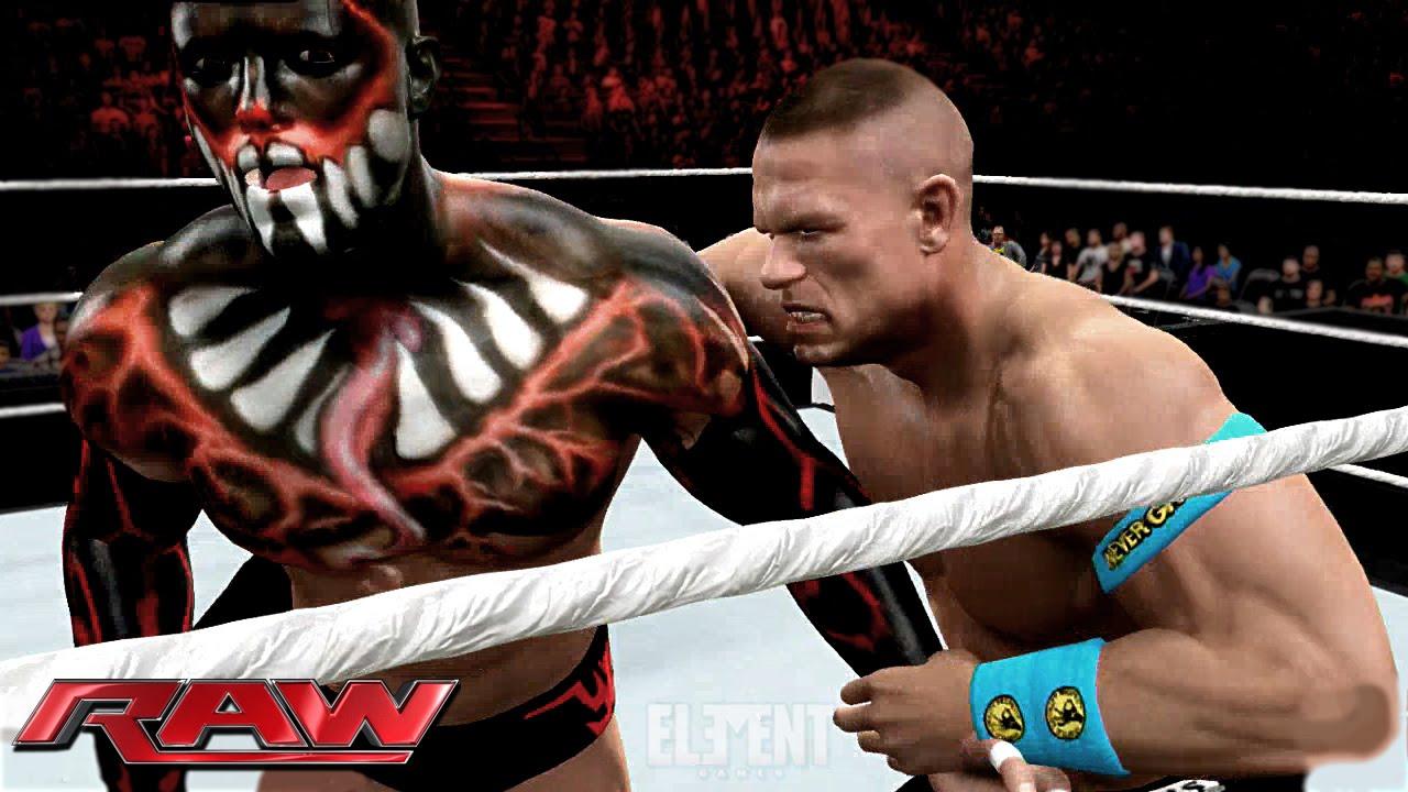 Finn Balor Raw Debut 2015 Accepts John Cenas Challenge Wwe 2k15 Youtube