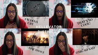 FIRST TIME REACTING TO STRAY KIDS (Hellevator & District 9)
