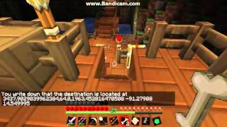 Minecraft - Technology Mod - How to use a Port Authority and Trireme