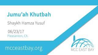 Ramadan Farewell Sermon: Saying Goodbye to Ramadan | Shaykh Hamza Yusuf