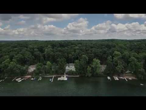 620 Lane 150A Lake James Angola, Indiana 46703 Aerial Video