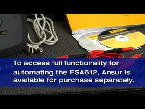 Fluke Biomedical - ESA612 Electrical Safety Analyzer Demo