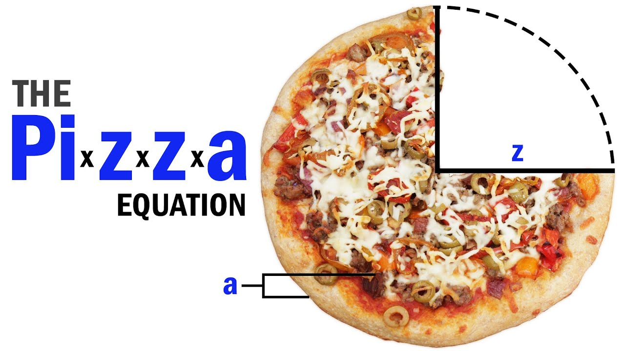 how to draw a pizza diagram