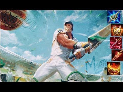 Liên Quân Mobile : Quẩy cùng Athur siêu sao cricket với lối lên đồ full dame