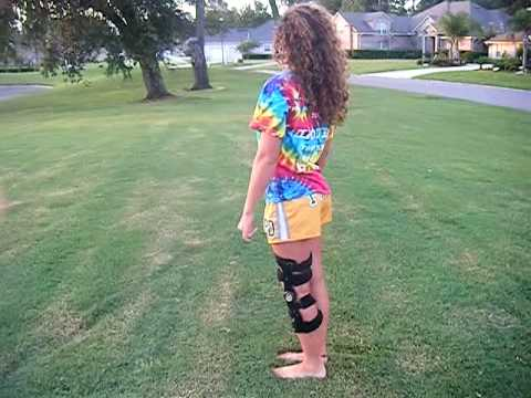 Acl Knee Brace First bhs after ACL su...