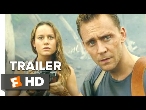Kong: Skull Island Official Comic-Con Trailer (2017) - Tom Hiddleston Movie