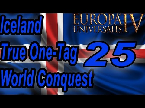 [EU4] Iceland True-1-tag World Conquest FINAL!