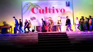 Dance performance by JNTUK ECE 2nd year students..