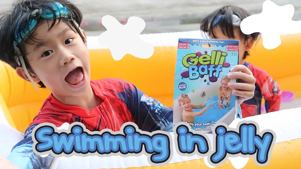 Play Gelli baff - เปลี่ยนสระว่ายน้ำเป็นวุ้นนุ่มนิ่มม!!