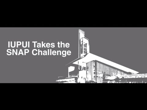 IUPUI Takes the SNAP Challenge