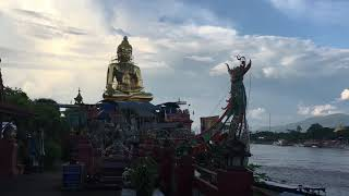 A visit to Thailand's Golden Triangle.  Thailand Laos Myanmar