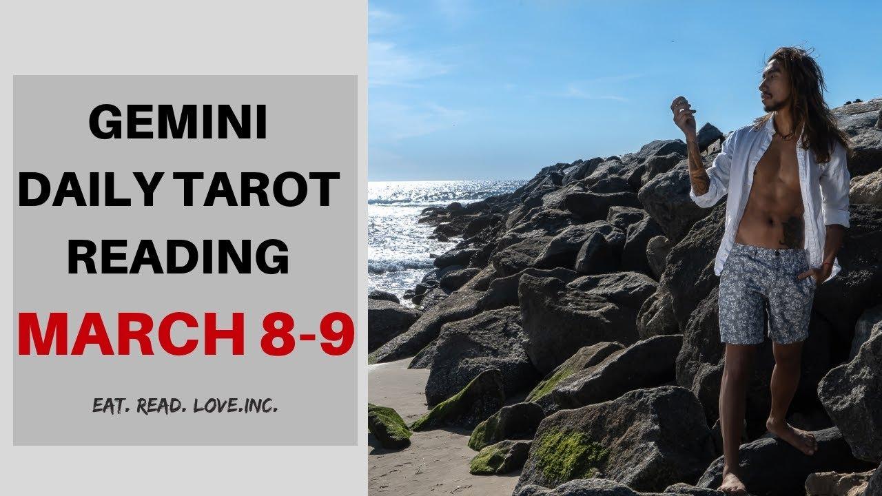 gemini tarot reading march