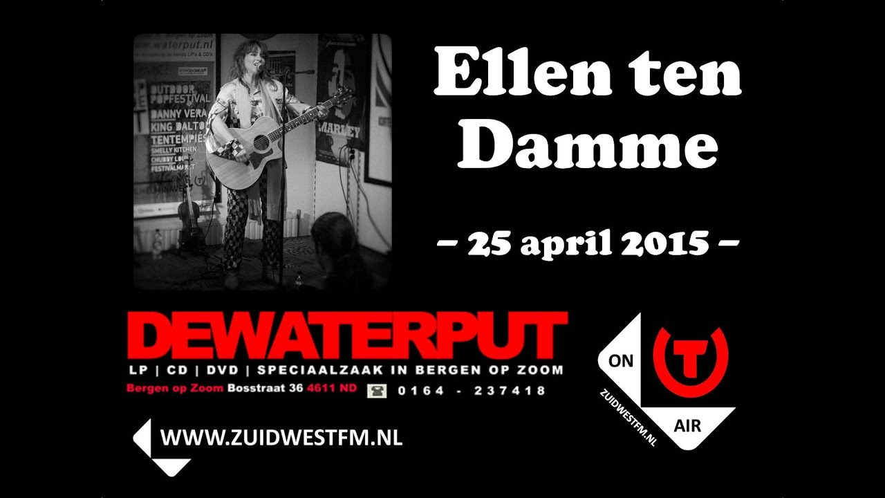 Ellen Ten Damme Johnny Kevin Version Waterput Instore Live