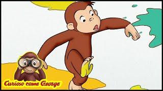 Curioso come George 🐵 128 Un Elefante per Vicino 🐵 Cartoni Animati per Bambini 🐵 Stagione 1