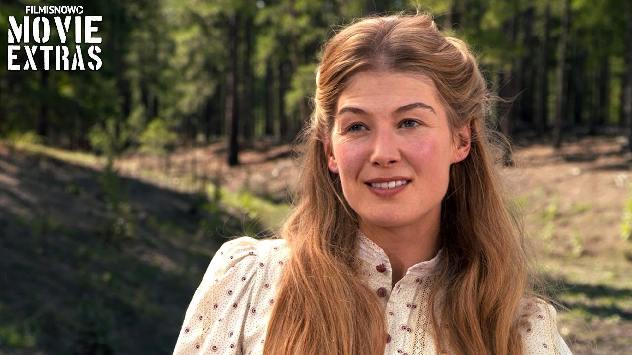 hostiles onset visit with rosamund pike quotrosalie quaid