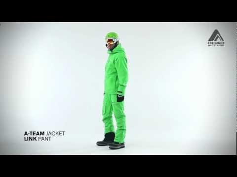 Мужская куртка A-TEAM и штаны LINK от 8848 Altitude