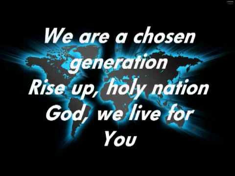 Chris Tomlin Chosen Generation With Lyricsm4v Youtube