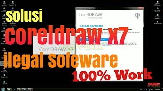 Corel draw x8 illegal software fix