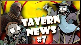 🔥Fantasy News: игра Властелин Колец, Рик и Морти против DnD, сюжет сериала Ведьмак, Герои Вархаммер