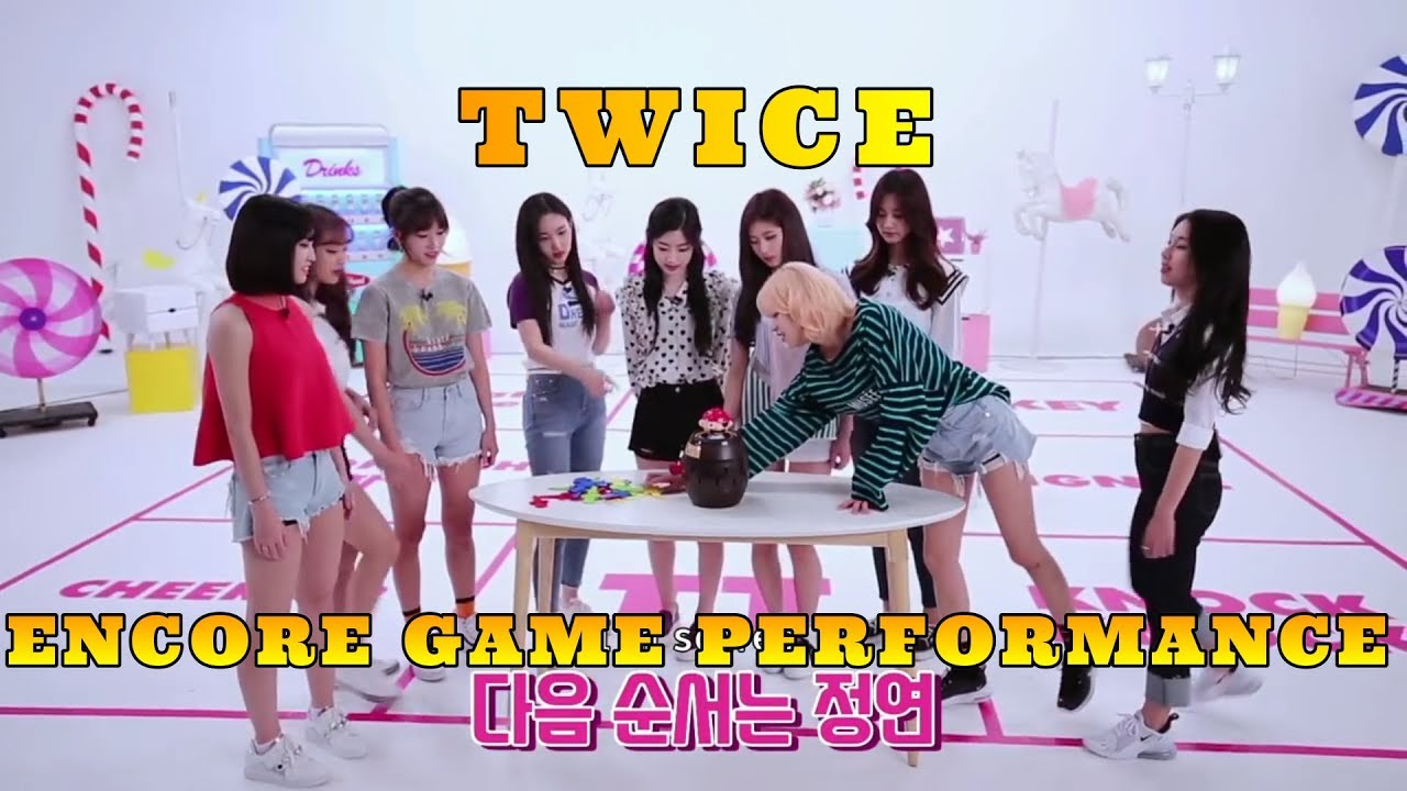 TWICE CONCERT – 'ENCORE GAME PERFORMANCE'