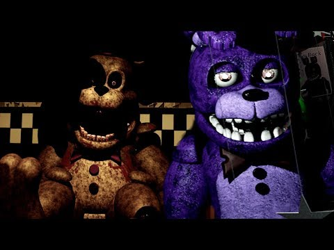 THE ANIMATRONICS STUFFED ME IN TO A SPRINGLOCK SUIT..  Five Nights at Freddys Static