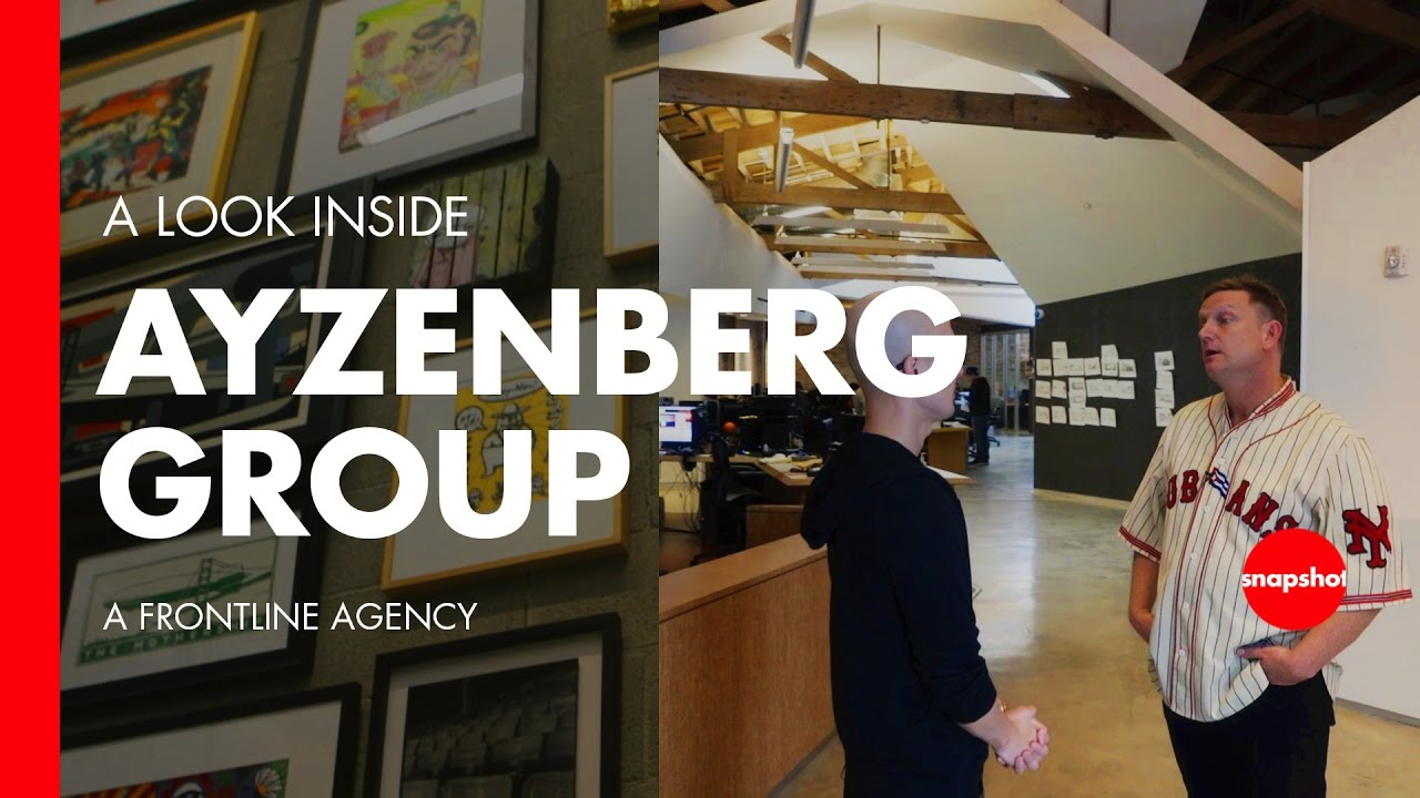 Advertising Agency Studio Tour w Ayzenberg Group Video Games Tech u0026 Brands