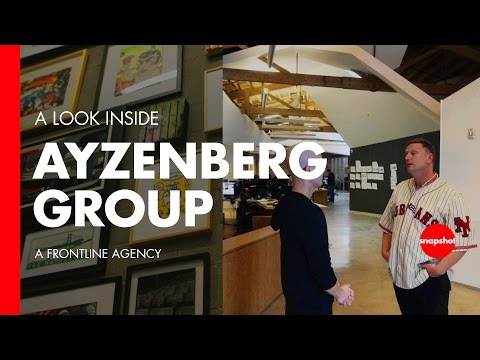Advertising Agency Studio Tour w/ Ayzenberg Group, Video Games, Tech, & Brands