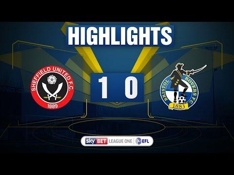 HIGHLIGHTS: Sheffield United 1-0 Bristol Rovers