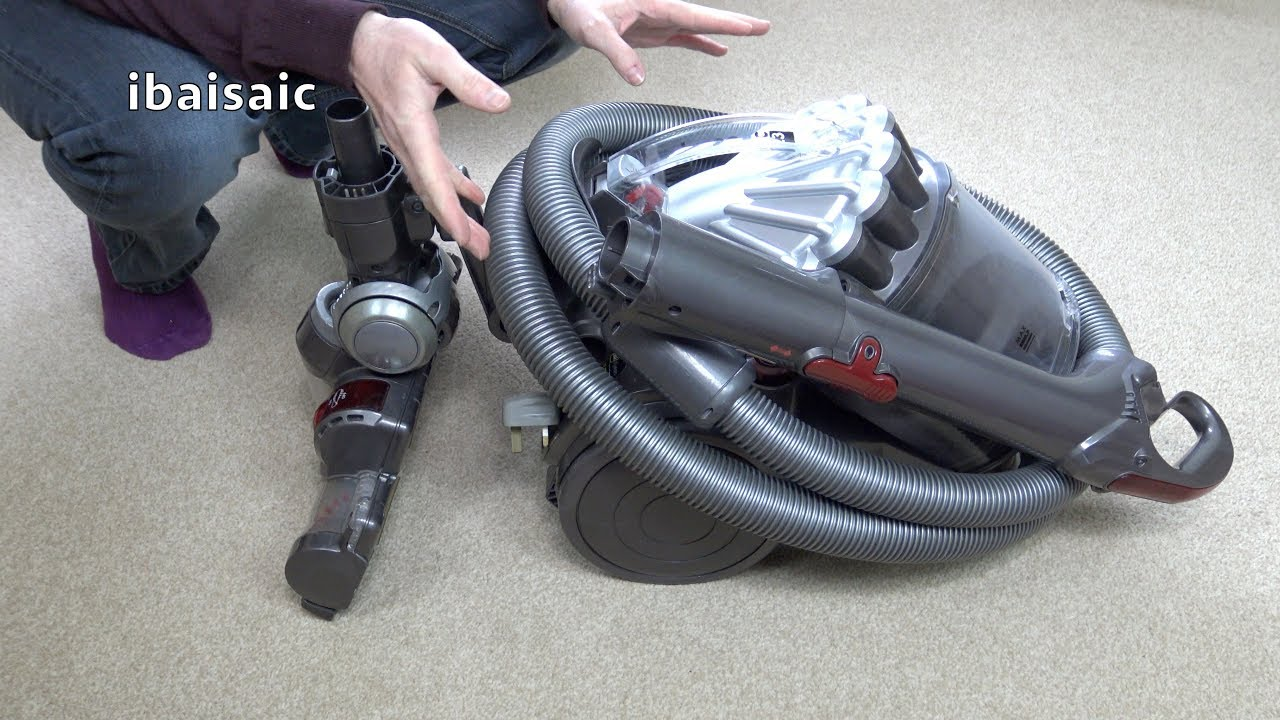 Dyson dc23 motorhead canister vacuum cleaner unboxing for Dyson dc23 motor stopped working
