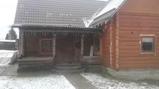 Смотреть видео утепление брусового дома снаружи видео