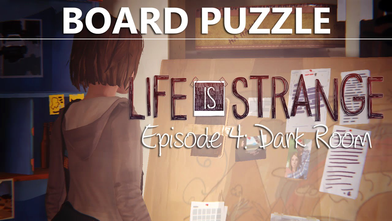 Life is strange episode 4 board puzzle answers clues for Farcical episode crossword