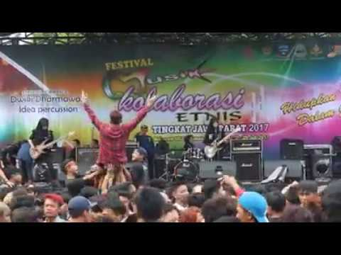VoB (Voice of Baceprot) - The Enemy Of Earth Is You - Live In Garut (West Java - Indonesia)
