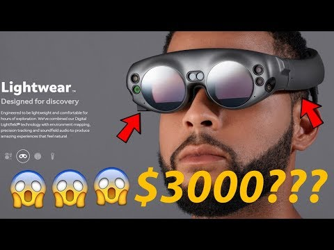 Magic Leap One revealed! How Much Will it Cost? $3000?