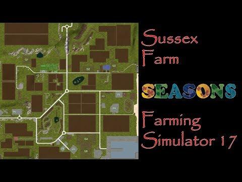 Farming Simulator 17 - Map First Impression - Sussex Farm V2