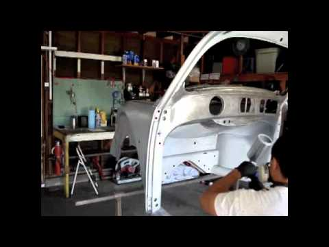 56 Vw Bug Dash Replacement Part 5 Youtube