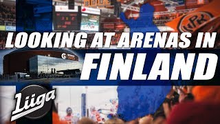 Looking at Arenas in Finland (Liiga)