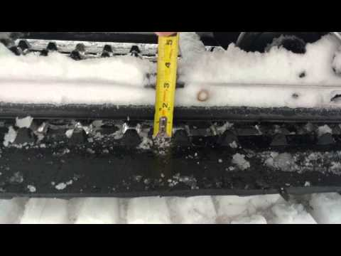 Track Tension and Alignment | 2015 Ski-Doo Skandic 900 ACE SWT