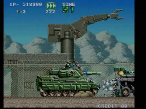 GunForce: Battle Fire Engulfed Terror Island (Arcade) 1CC All Clear