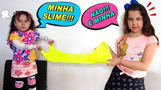 SARAH E ELOAH QUEREM A MESMA SLIME !!! Sarah and Eloah both want the same Slime