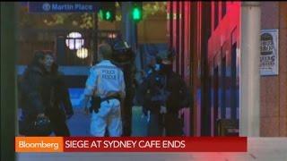 Sydney Siege: Hostage Situation at Café Ends in Gunfire