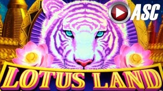 *BIG WIN!* LOTUS LAND (Konami) MULTIPLIERS, TIGERS, GATORS, MUSTANGS OH MY!!! Slot Machine Bonus