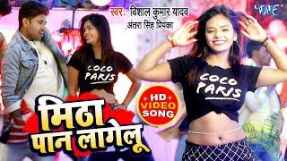 भोजपुरी का नया गाना वीडियो 2021 | GMitha Paan Lagelu | Vishal Kumar Yadav | Antra Singh Priyanka