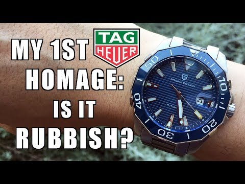 """A Beaut Rip-Off! Pagani Design """"Aquaracer"""" 43mm Automatic Watch Review (PD-1617) - Perth WAtch #131"""