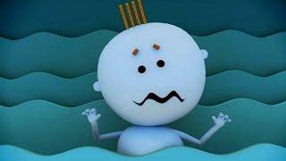 Аркадий Паровозов спешит на помощь - Почему опасно долго находиться в воде - мультфильм
