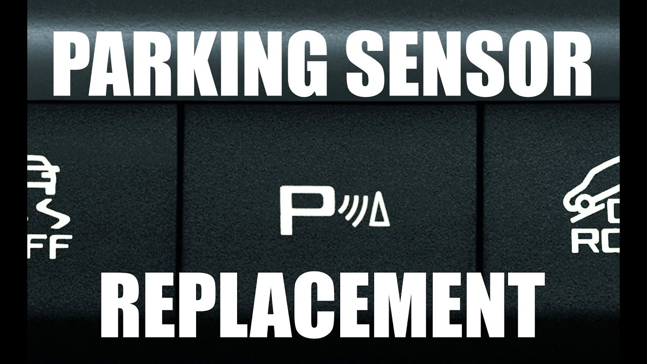 Parking Assist Sensor Replacement Youtube